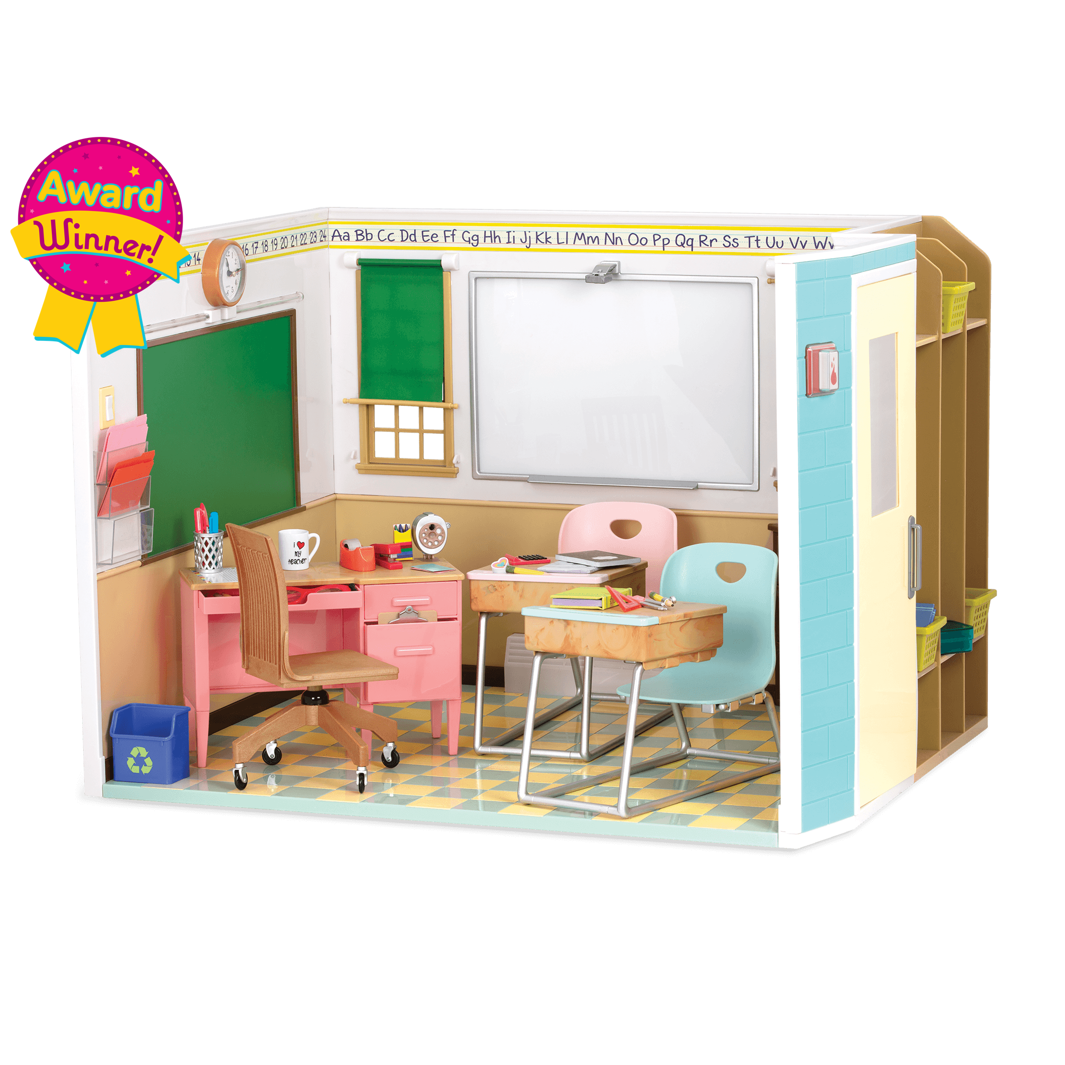 Awesome Academy school room playset for 18-inch dolls