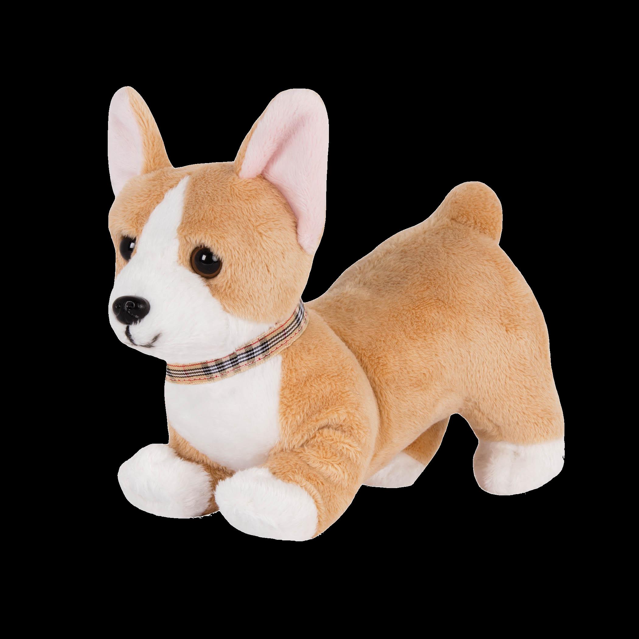 Posable Corgi Pup 6-inch Toy Dog