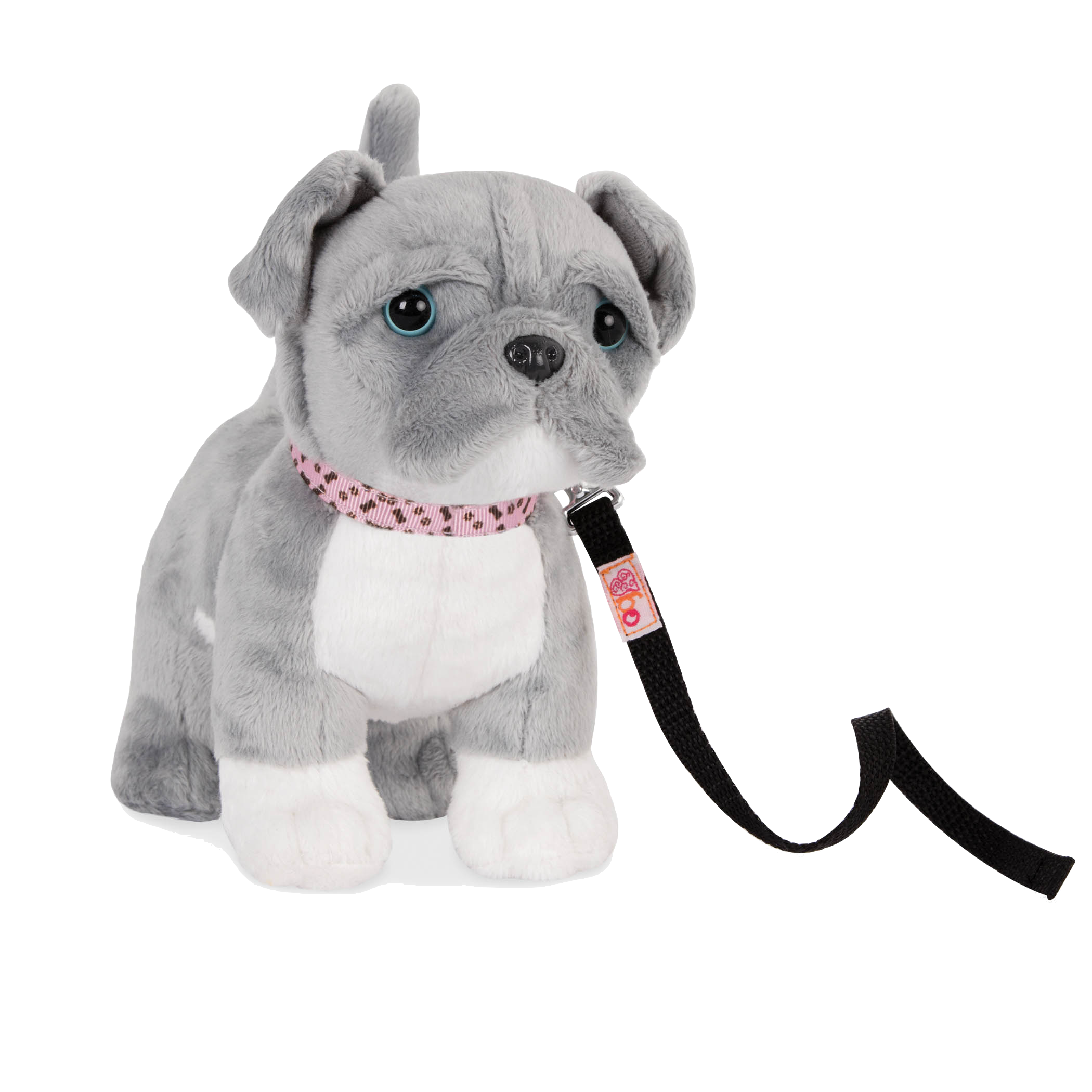 6-inch Posable Pitbull Pup for 18-inch Dolls
