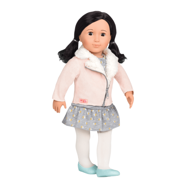 Suyin 18-inch Doll with Shearling Jacket