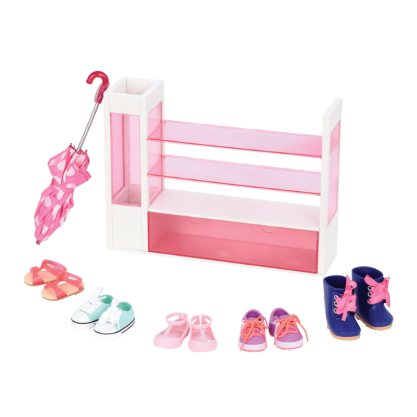 Sort a Shoe Set for 18-inch Dolls