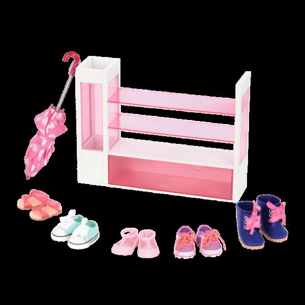 Sort a Shoe Set for 18-inch Dolls