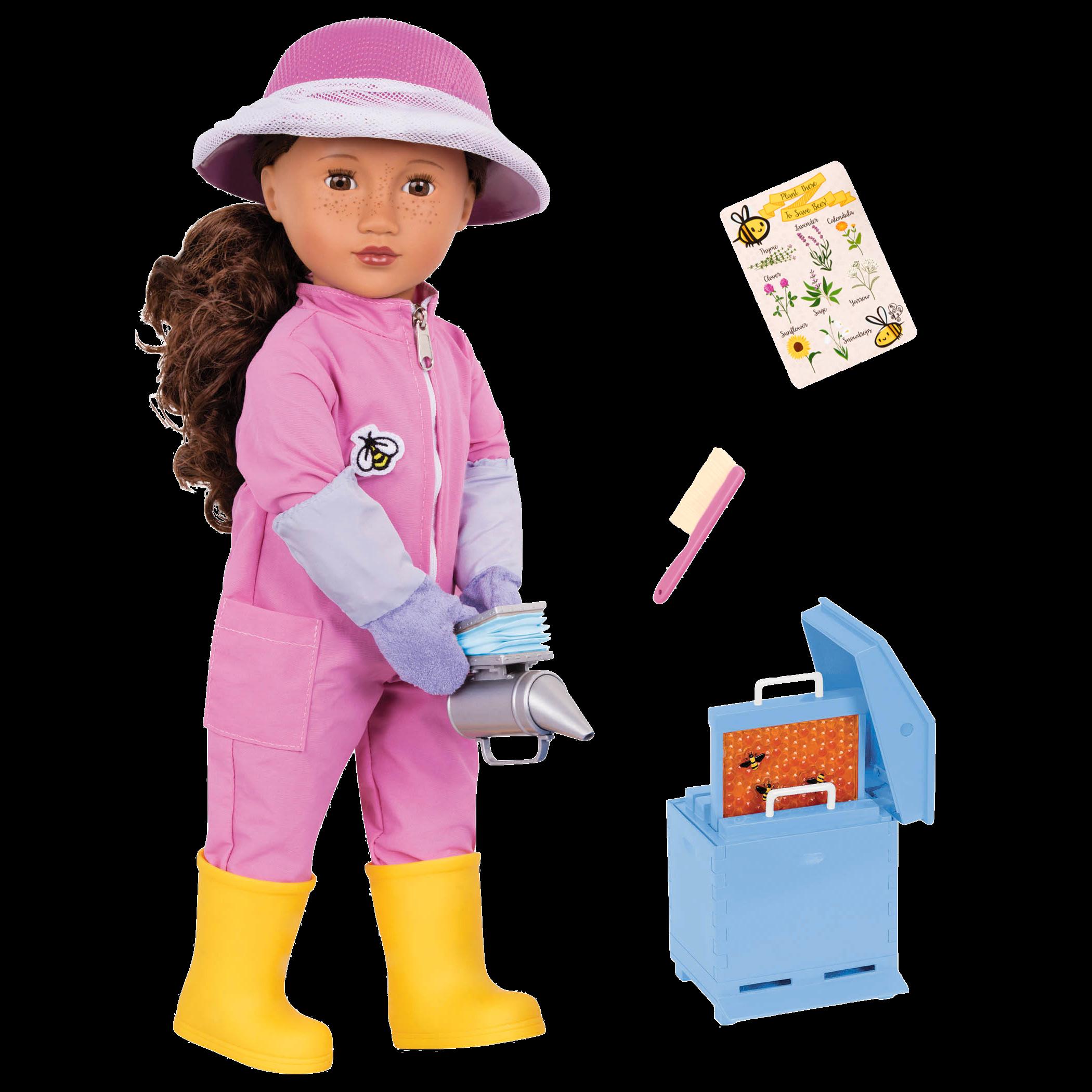 Melina 18-inch Beekeeping Doll