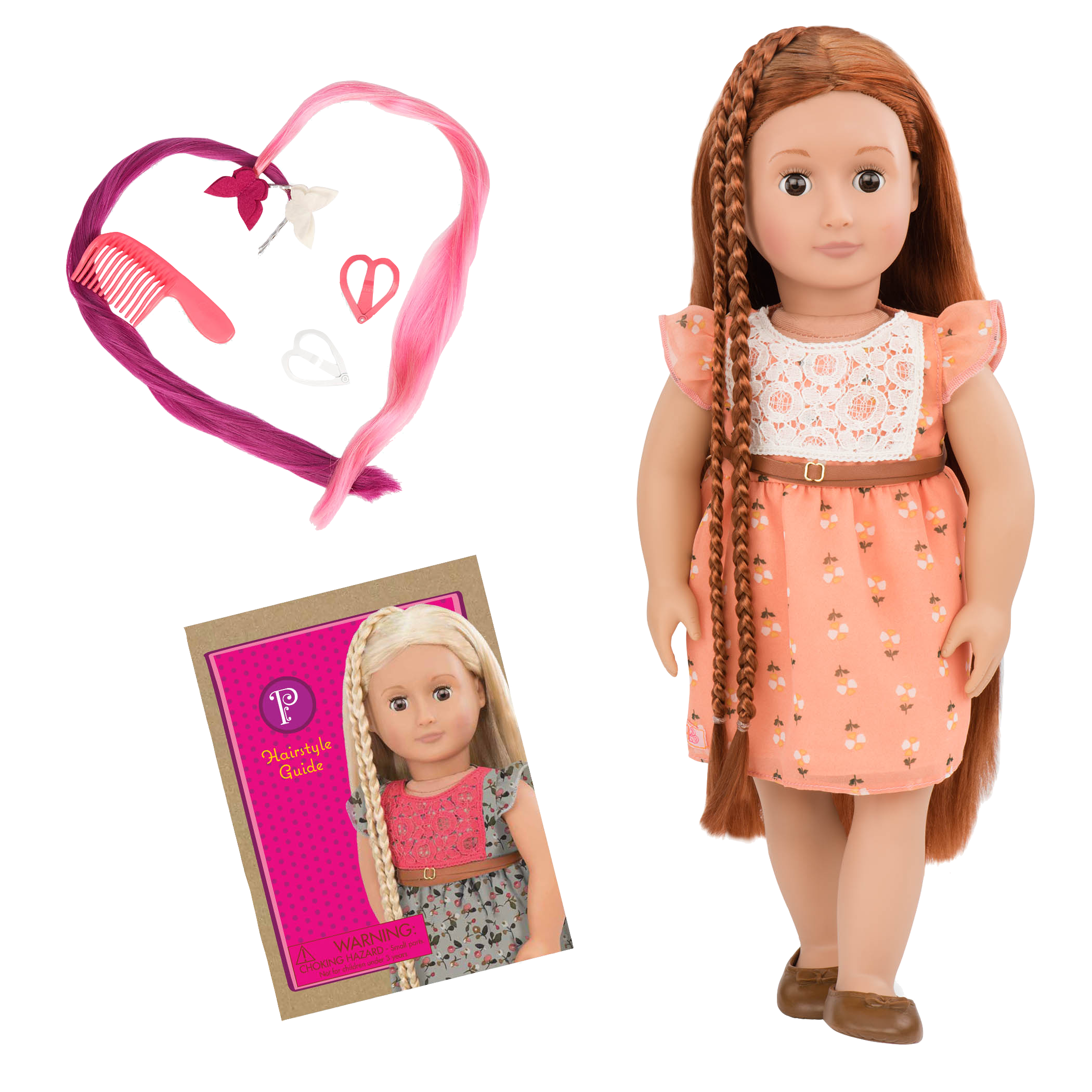 BD31071 Patrice Hairplay Doll all components