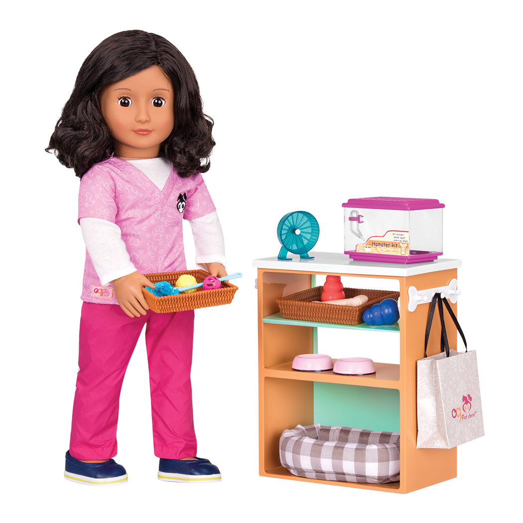 Pet Store Set for 18-inch Dolls