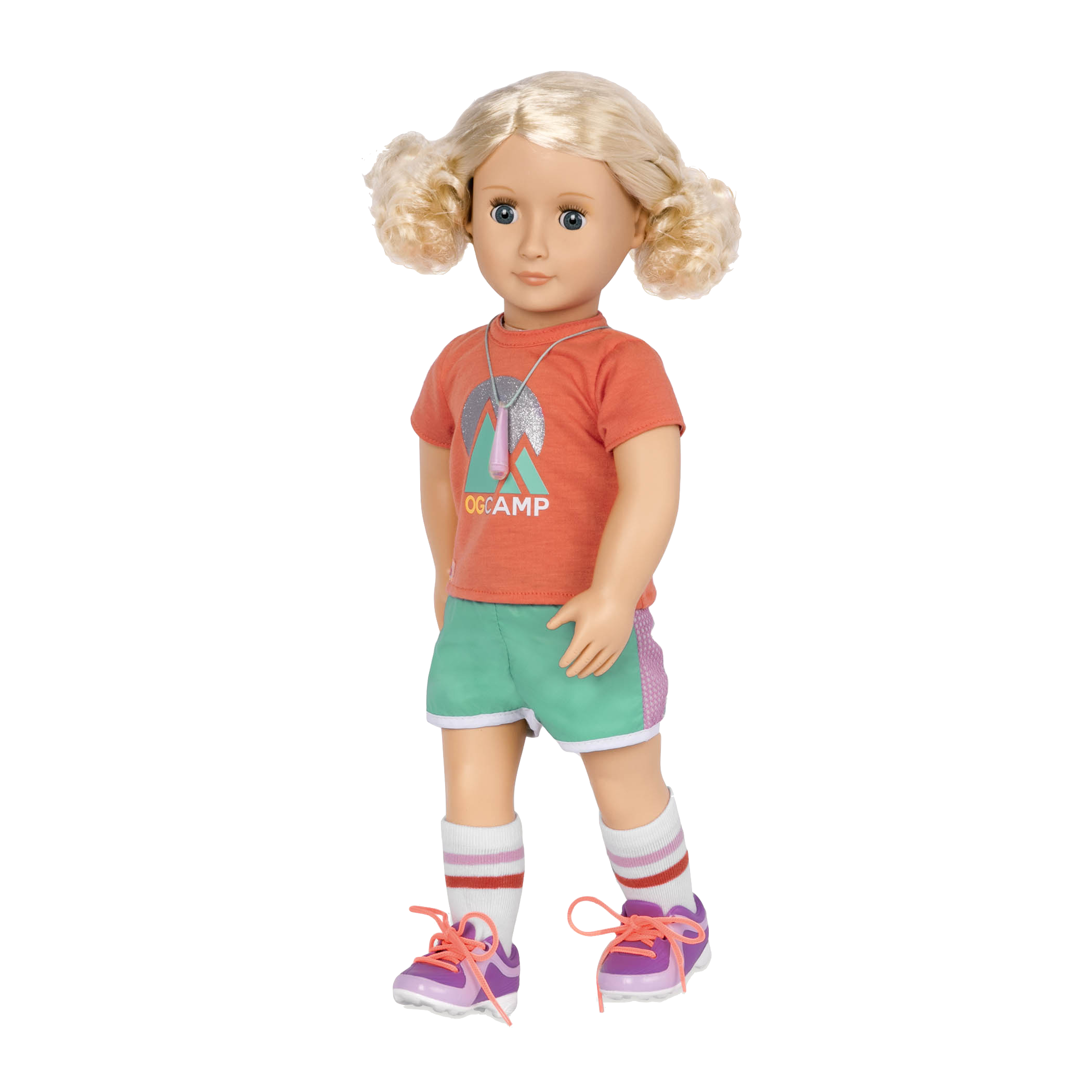 Clarissa wearing the Summer Camp outfit