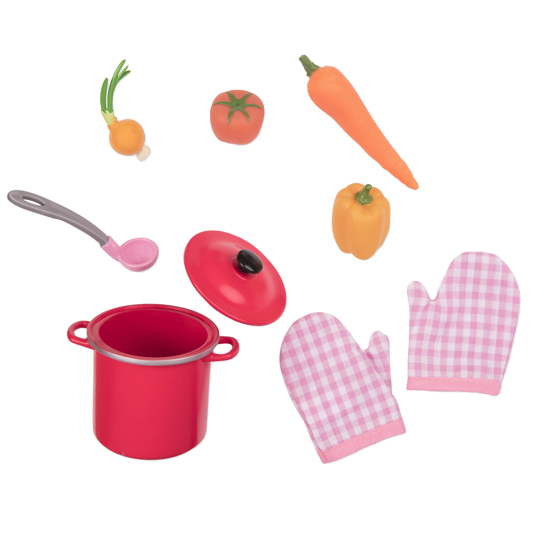 Soup of the Day Set - Cooking Accessories for 18-inch Dolls