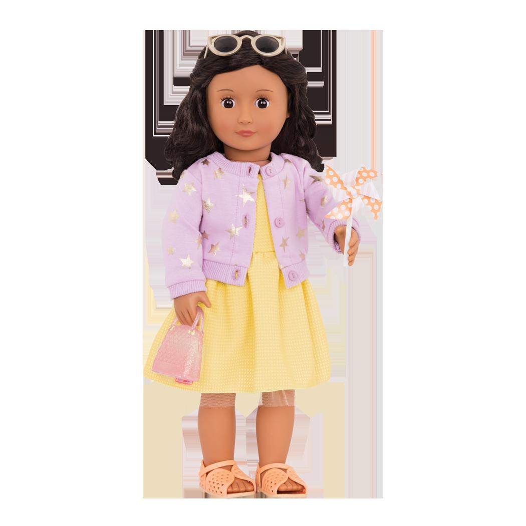 Paloma wearing Sunshine and Stars outfit