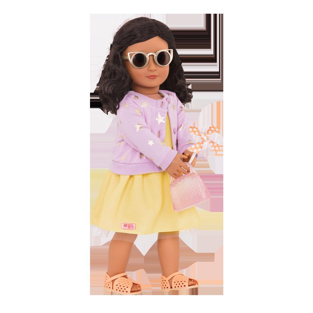 Paloma wearing sunglasses