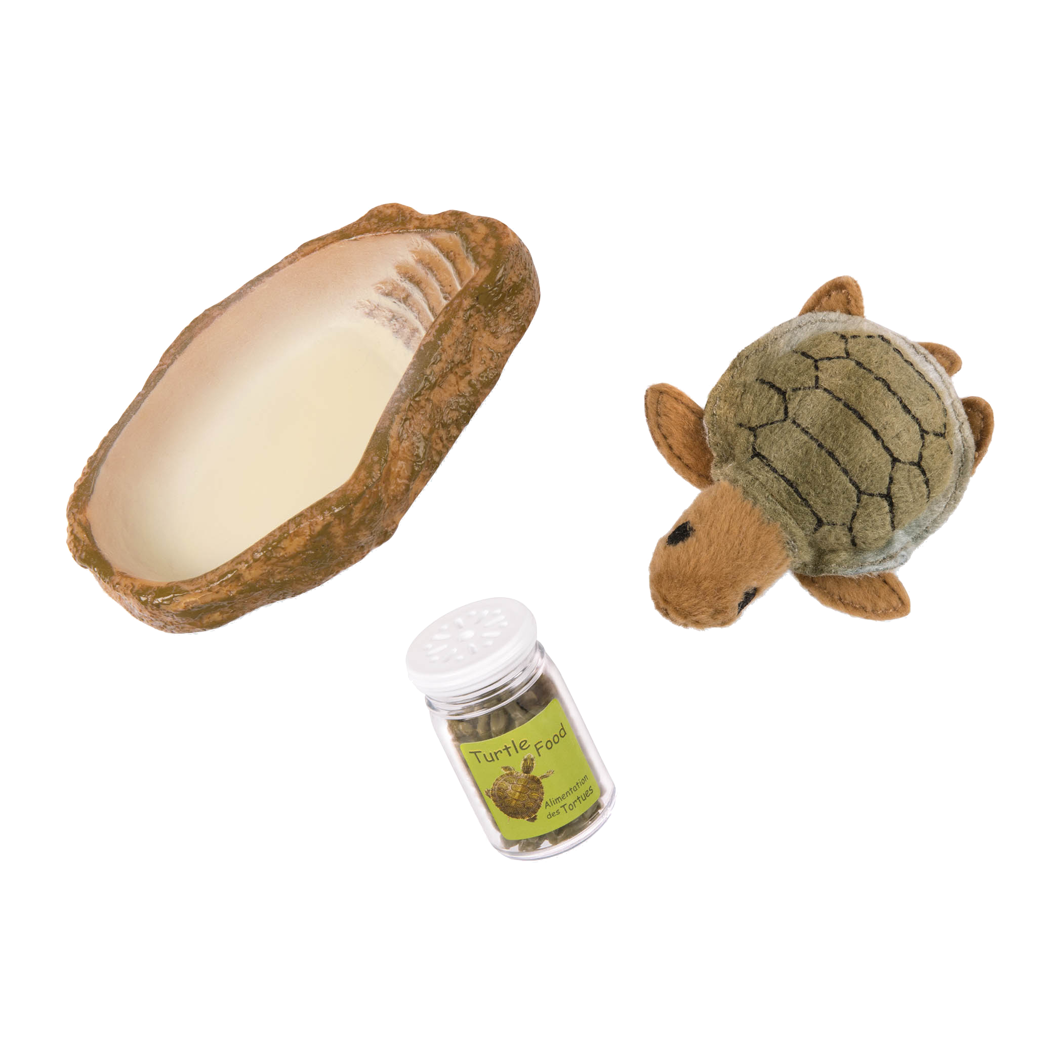 Pet Turtle Set for 18-inch Dolls