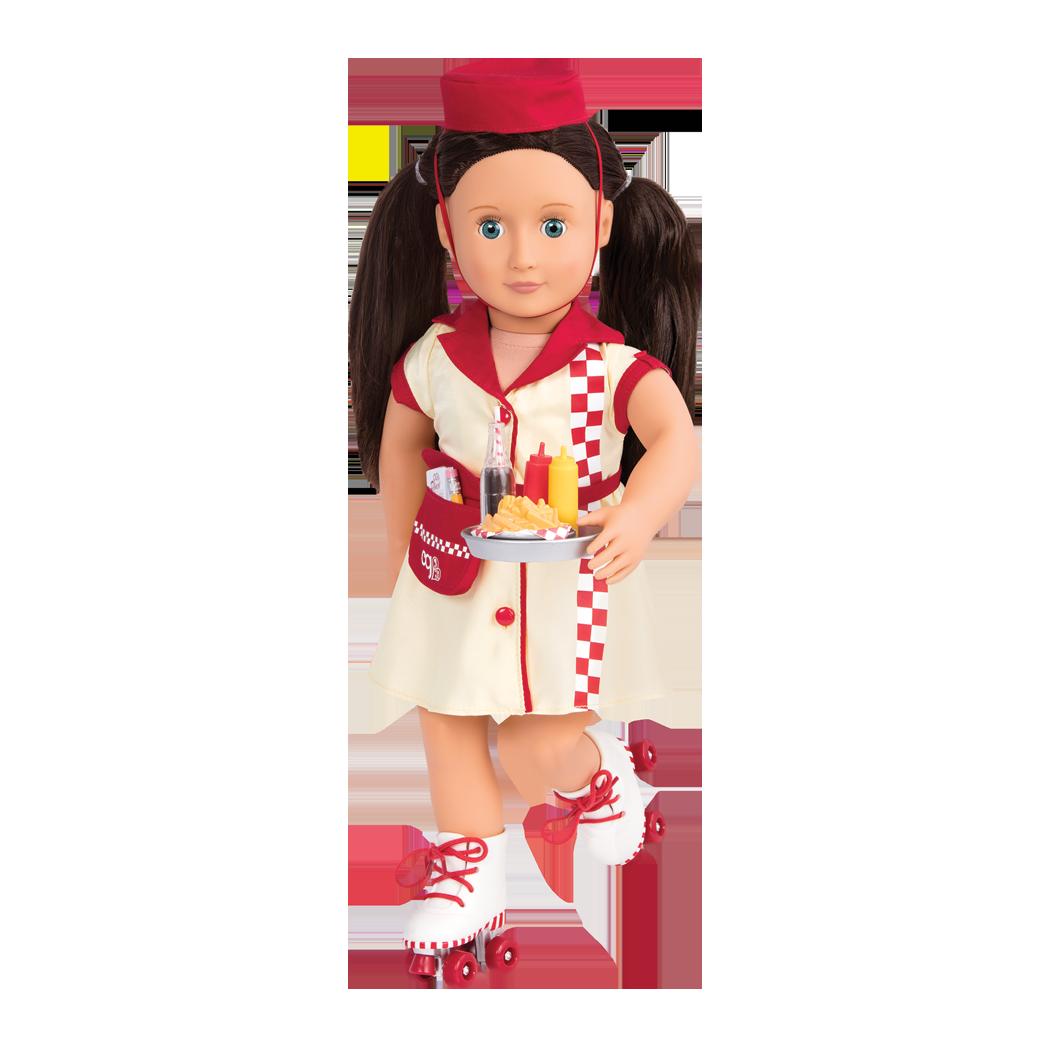 Willow wearing uniform