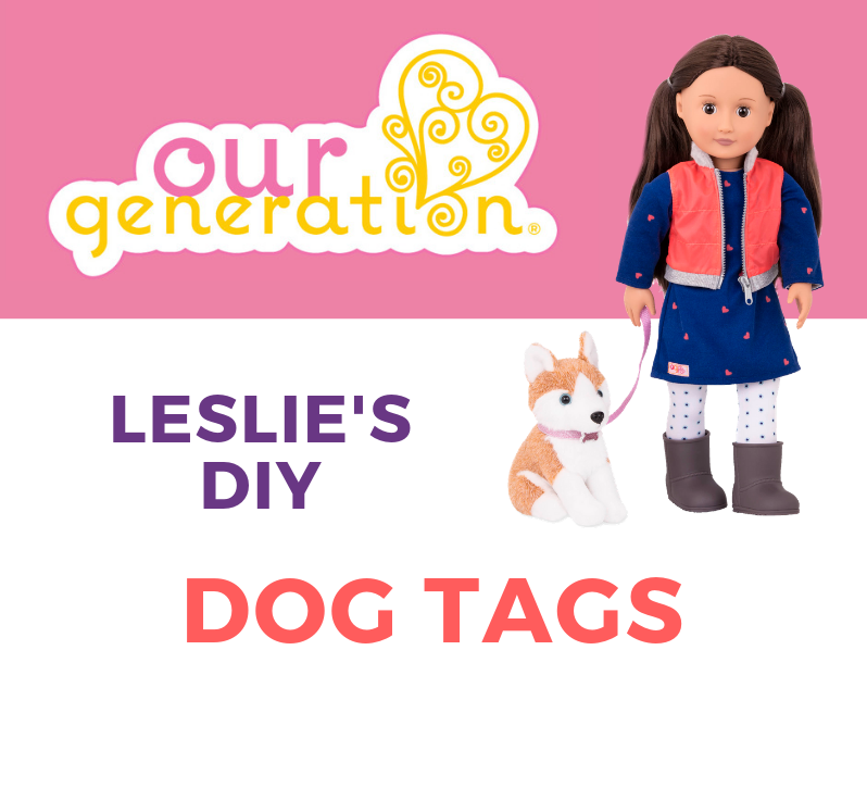 Leslie's DIY Dog Tags Tutorial