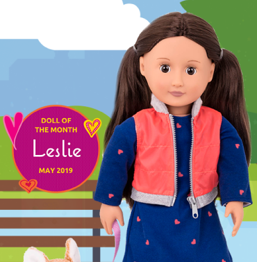 May's Doll of the Month Leslie