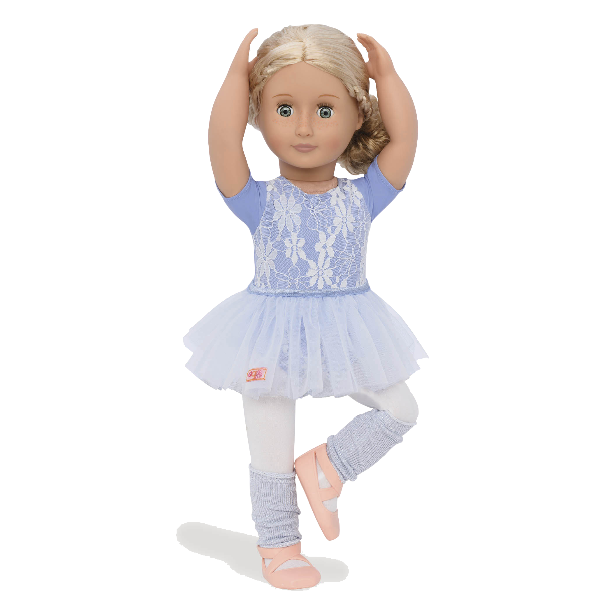 Coral wearing Ballet Belle outfit