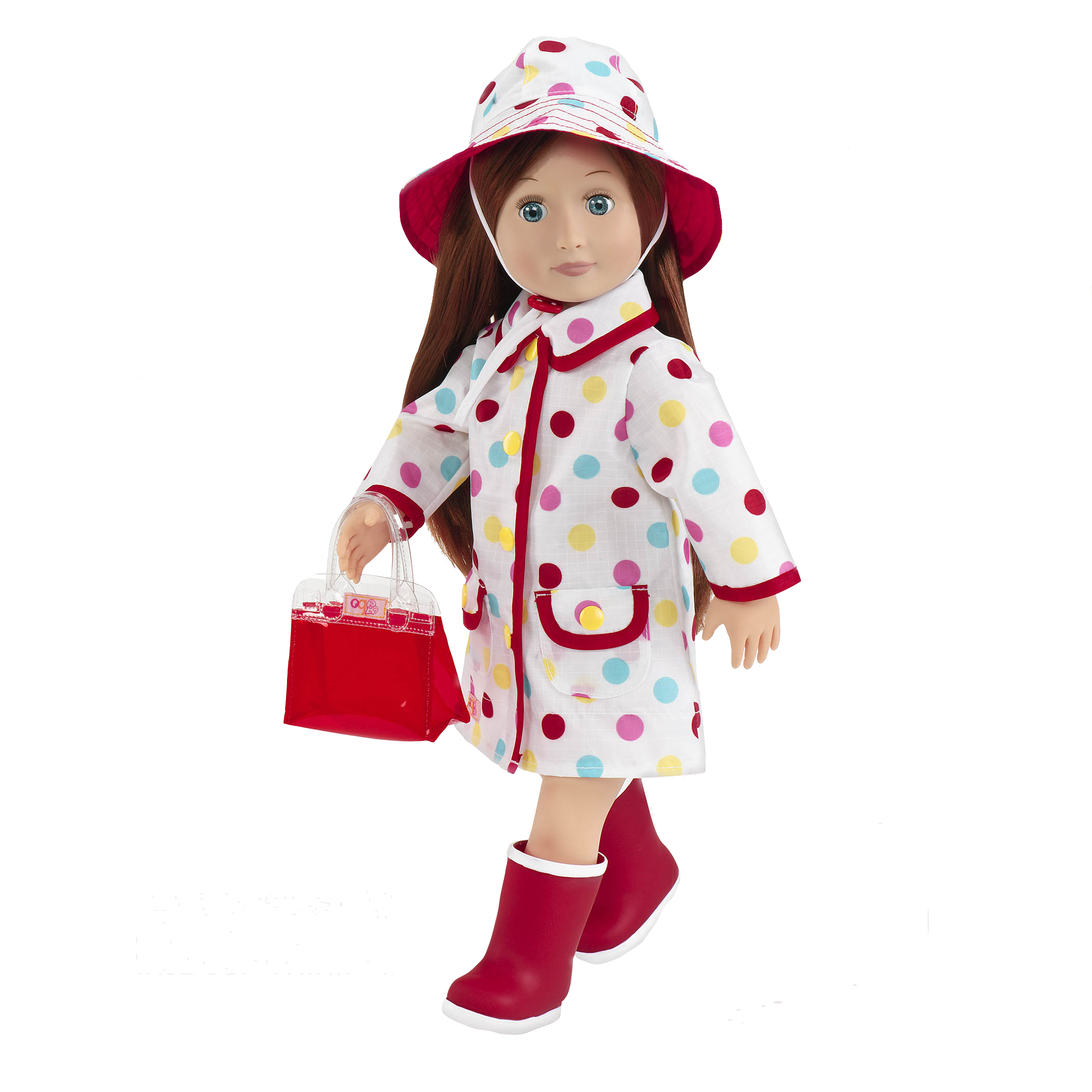 Ayla wearing A Spot of Rain Outfit