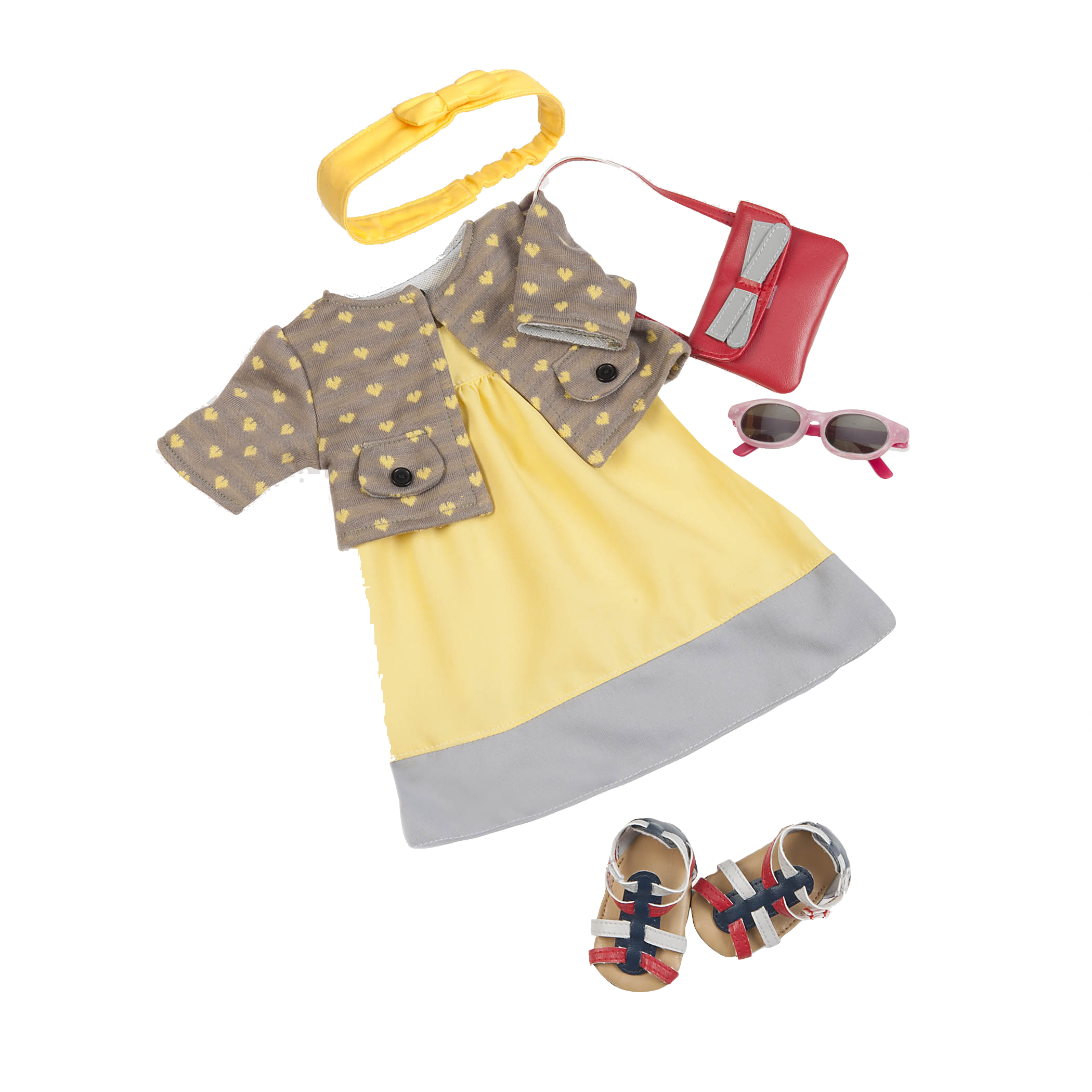 To Our Heart's Content Dress Outfit for 18-inch Dolls