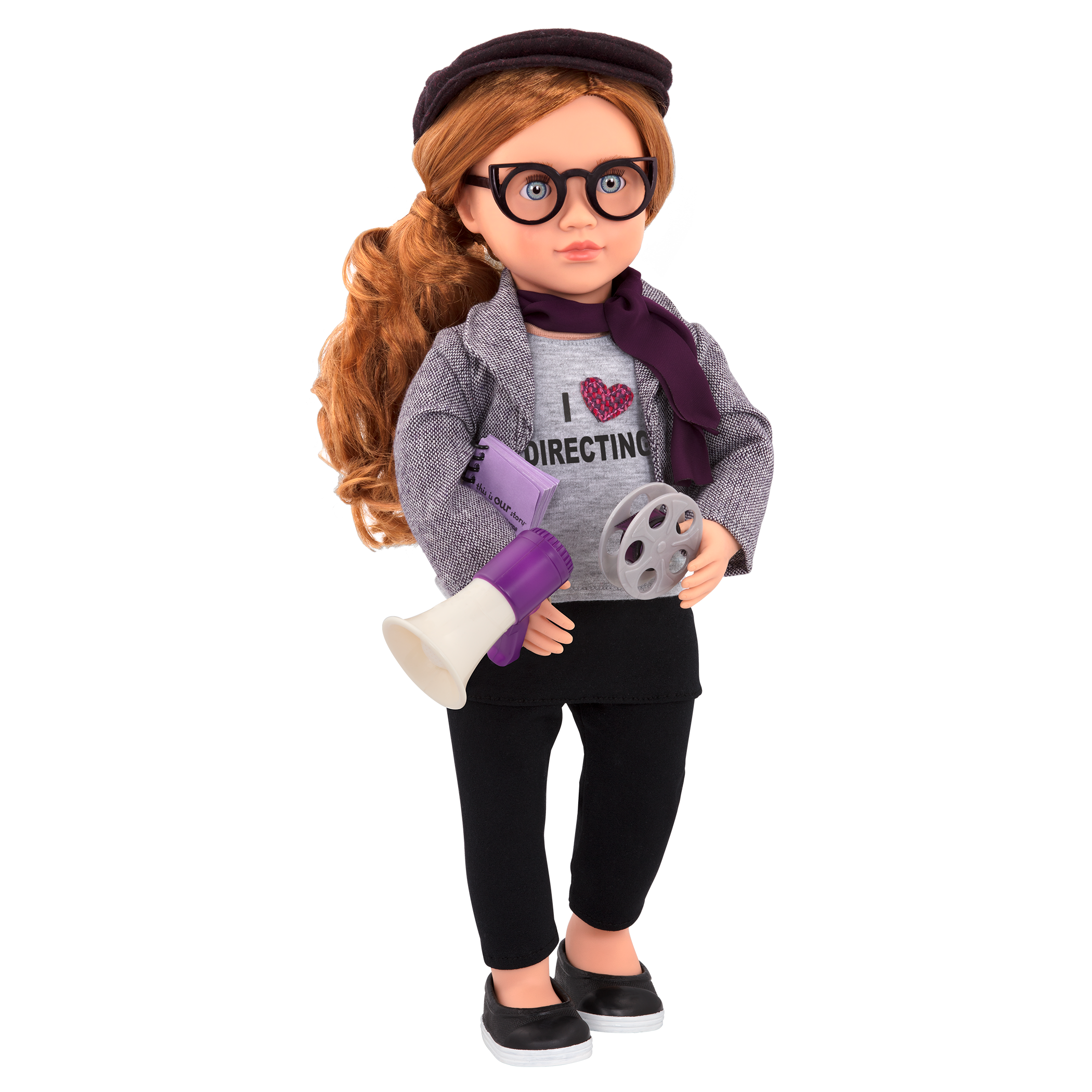 Mienna Deluxe 18-inch Movie Doll with accessories