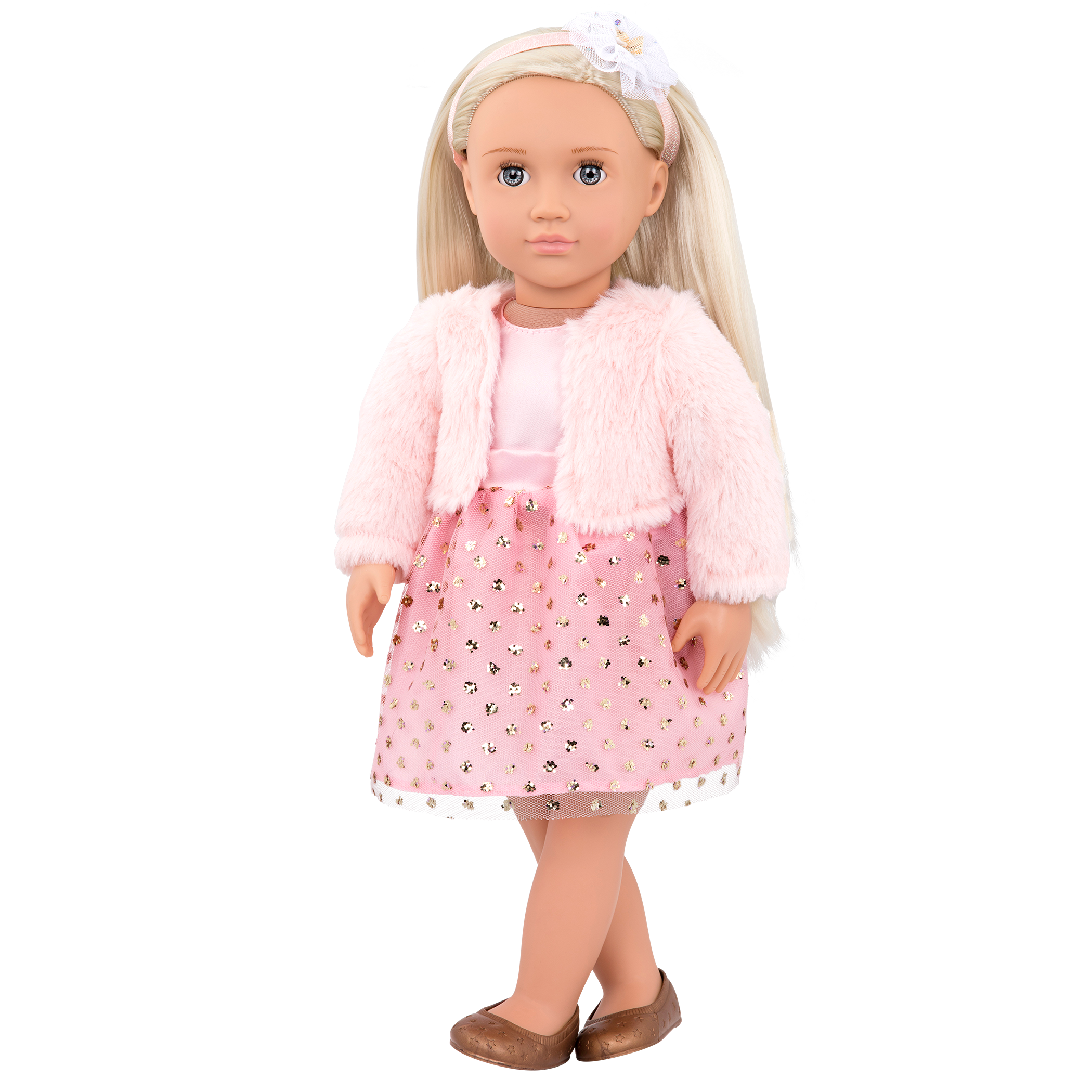 Millie Regular 18-inch Doll with legs crossed