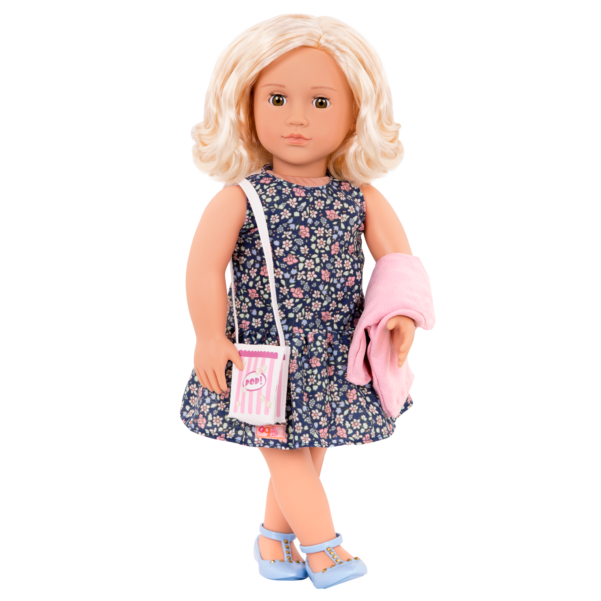 Popcorn Pizazz - 18-inch Doll Outfit with Ivory
