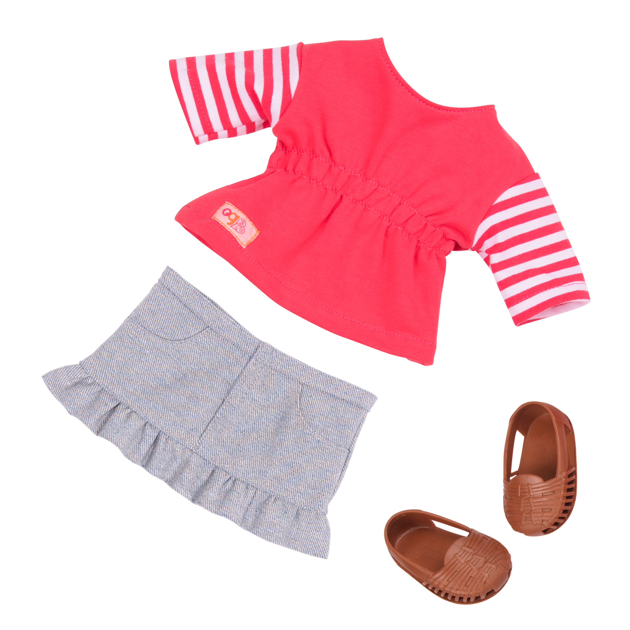 Details of casual outfit