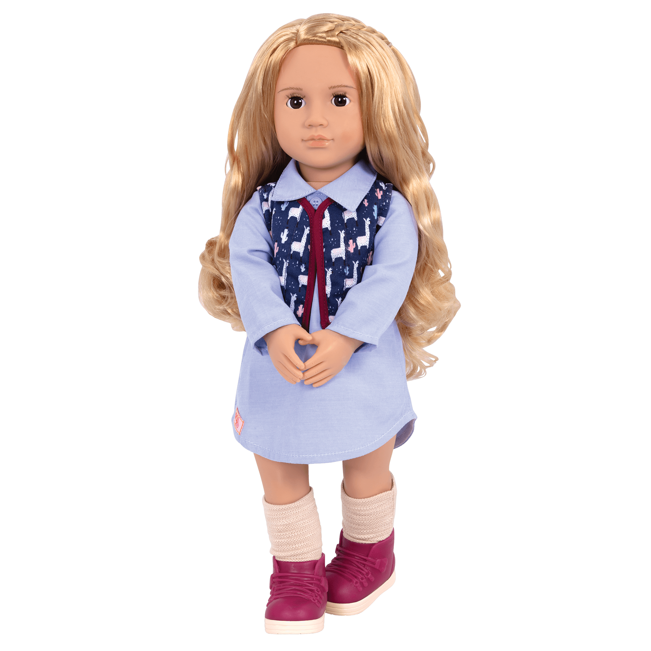 Amalia 18-inch Travel Doll
