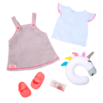 Unicorn Express 18-inch Doll Outfit
