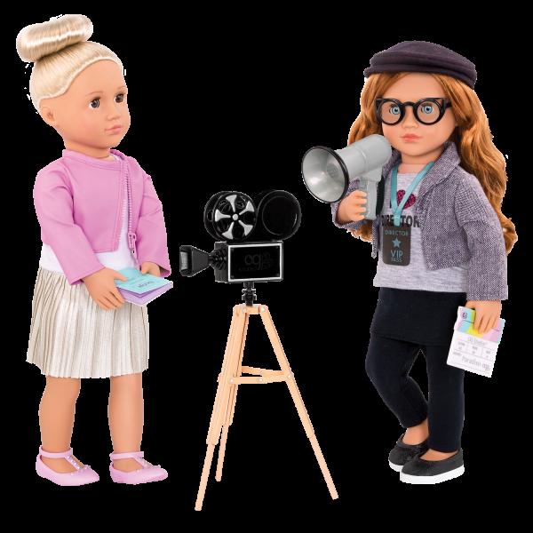 Camera's Rolling Movie Accessory with Rafaella