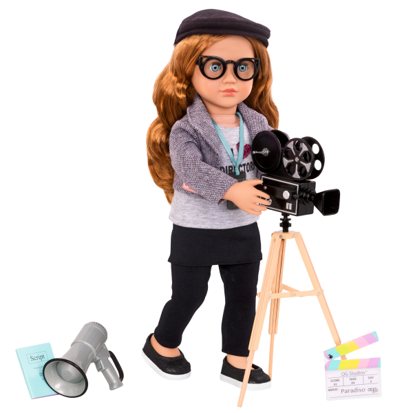 Camera's Rolling Movie Accessory with Mienna