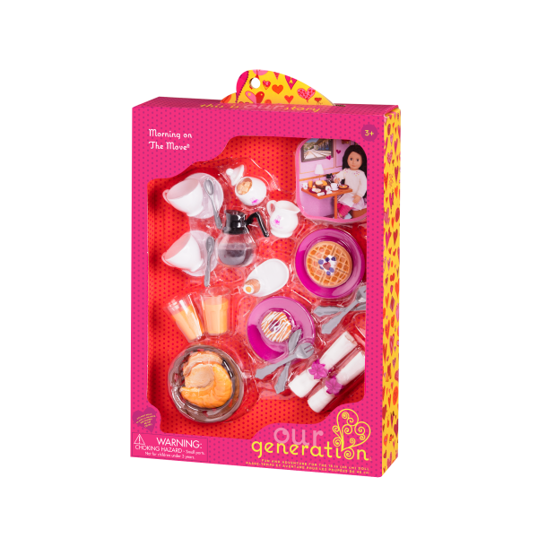 Morning on the Move Breakfast Accessory Packaging