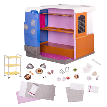 OG Express Train Cabin Accessory for 18-inch Dolls