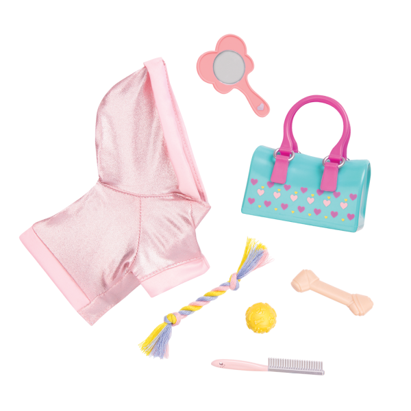 Beauty Paws accessories for 18-inch dolls