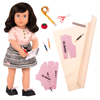 18-inch Fashion Designer Doll Olinda
