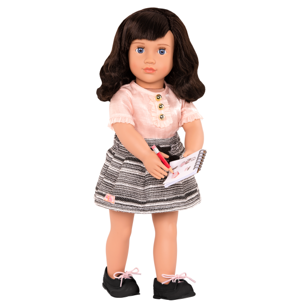 18-inch Fashion Designer Doll Olinda with Outfit