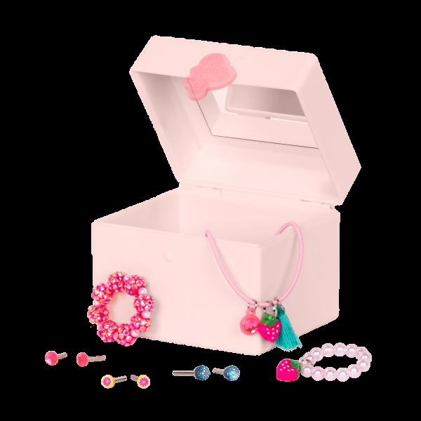 18-inch Jewelry Doll Alessia with Jewelry Box