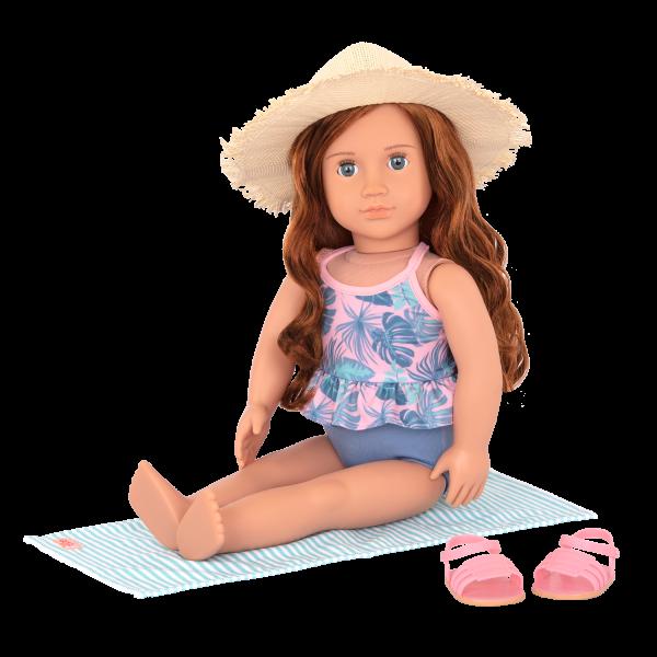 18-inch Beach Doll Lexie Accessories