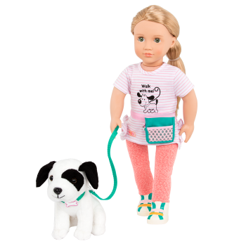 18-inch Dog Trainer Doll Hazel with Pet