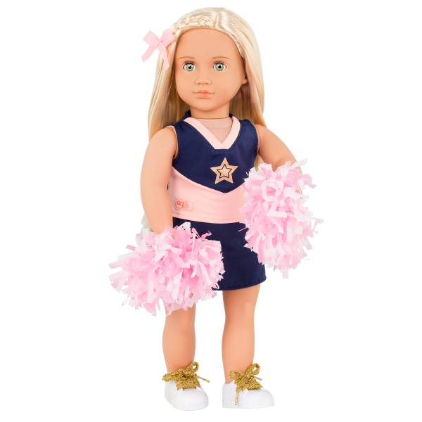 18-inch Cheerleader Doll Khloe