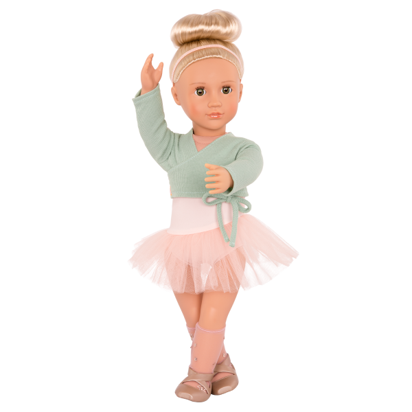 18-inch Ballet Doll Viola Outfit