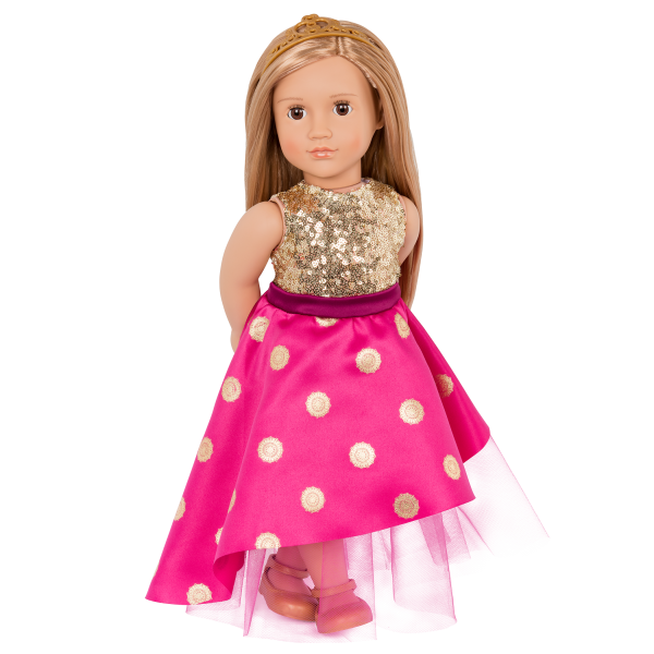 18-inch Fashion Doll Sarah with Outfit