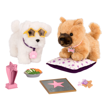 Paws for Applause Pup Set for 18-inch Dolls