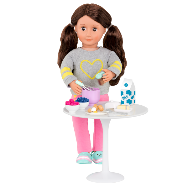 Wake Up to Flavor Breakfast Set for 18-inch Dolls Accessories