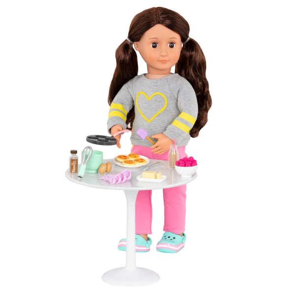 Wake Up to Flavor Breakfast Set for 18-inch Dolls with Rayna