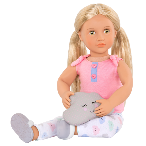 Cloudy Cuddles Outfit for 18-inch Dolls with Joanie
