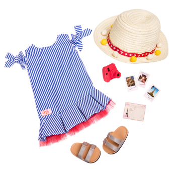 Sweet Souvenirs Deluxe Outfit for 18-inch Dolls