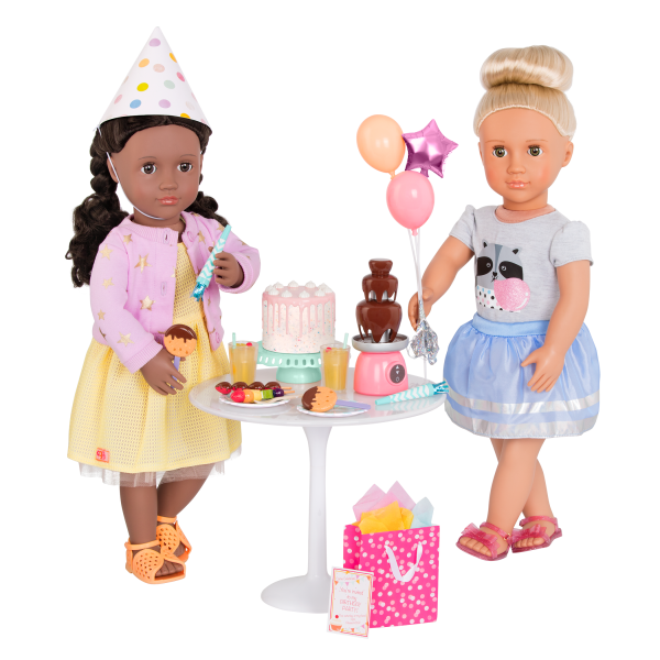 Sweet Celebration Birthday Party Set with Rashida and Viola