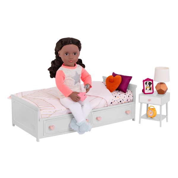 Goodnight Glow Bedroom Set with Rashida
