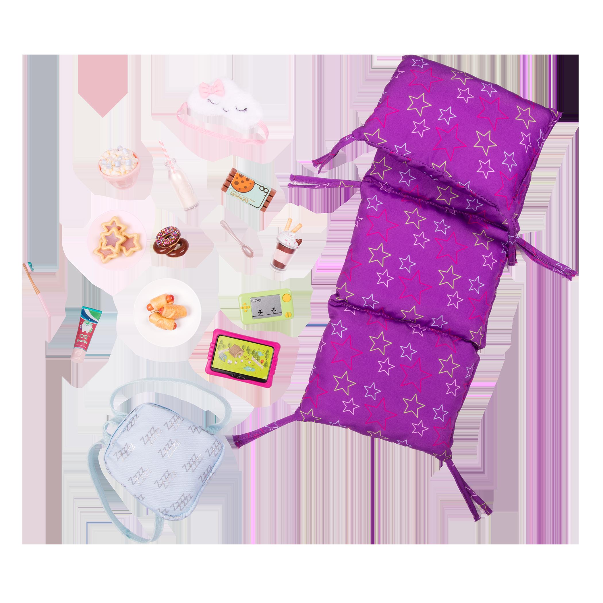 Slumber Delight Sleepover Set for 18-inch Dolls