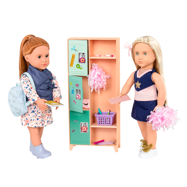 Classroom Cool Locker Set with Brice and Khloe