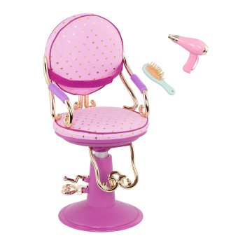 Sitting Pretty Salon Chair for 18-inch Dolls