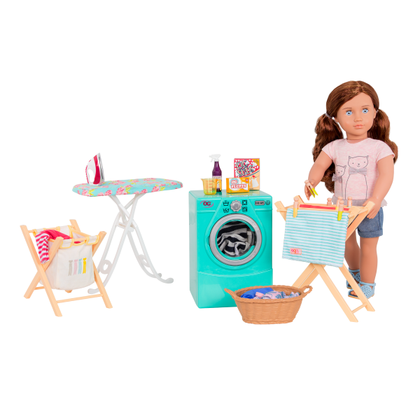 Tumble and Spin Laundry Set with Lexi